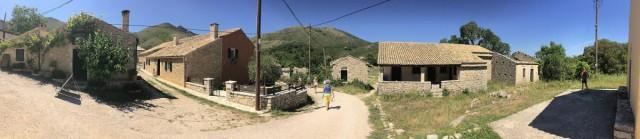 Zdjęcia: Perithia, Korfu, Old Perithia - panorama, GRECJA