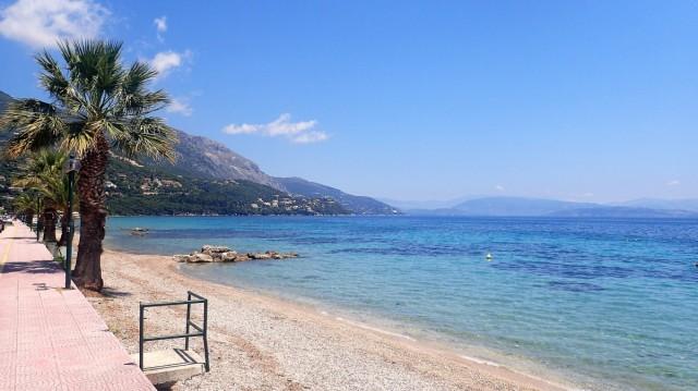Zdjęcia: Ipsos, Korfu, Plaża Ipsos - Korfu, GRECJA