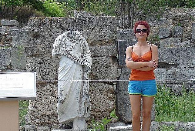 Zdj�cia: KORYNT, KORYNT, DWA POS�GI..., GRECJA