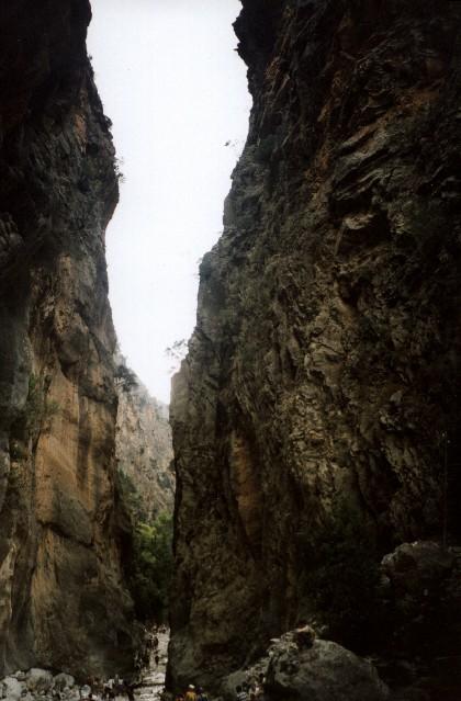 Zdjęcia: wąwóz Samaria, Kreta, sklane wrota, GRECJA