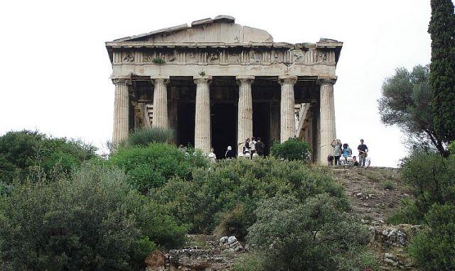 Zdjęcia: ATENY, ATENY, ŚWIĄTYNIA HERKULESA, GRECJA
