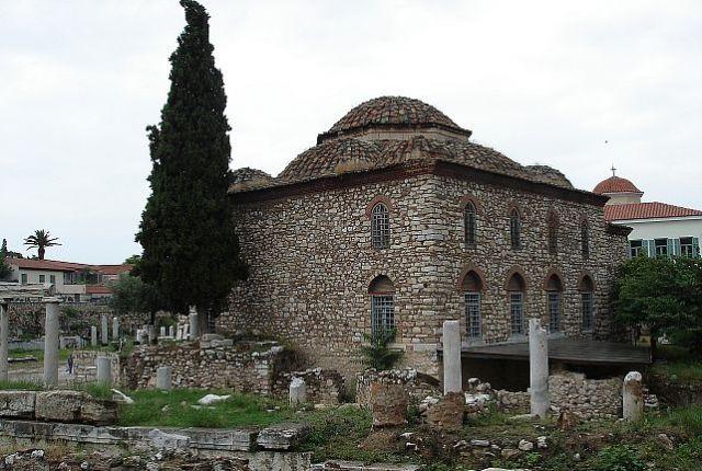 Zdjęcia: ATENY, ATENY, NAJSTARSZY MECZET W ATENACH, GRECJA