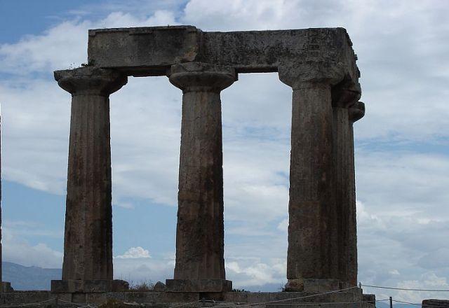 Zdj�cia: STARO�YTNY KORYNT, KORYNT, �WI�TYNIA ..., GRECJA
