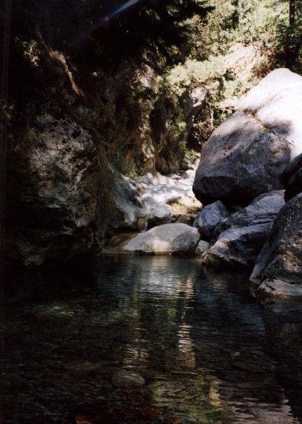 Zdjęcia: wąwóz Samaria, Kreta, jeziorko, GRECJA