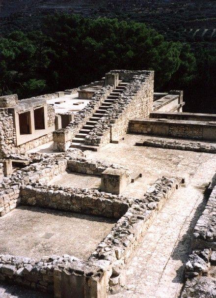 Zdjęcia: Knossos, Kreta, stairway to heaven, GRECJA