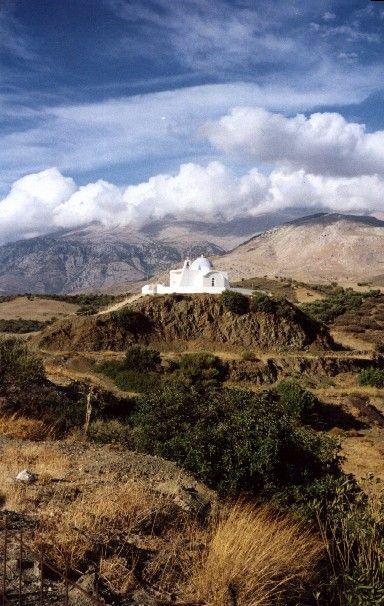 Zdjęcia: w drodze na zachód, Kreta, na wzgórzu, GRECJA