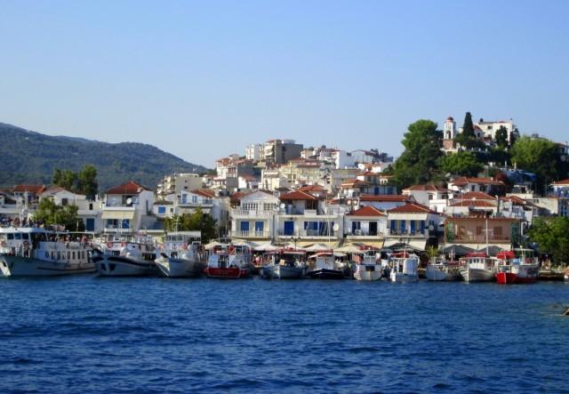 Zdjęcia: Skiathos, Sporady Północne, ~Stary port, GRECJA