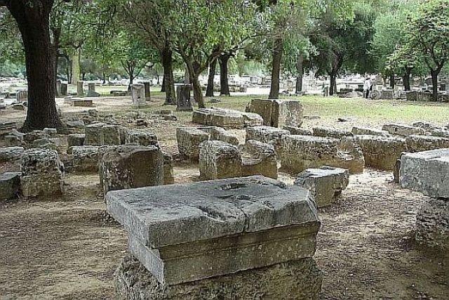 Zdjęcia: Olimpia, Olimpia, Święty Gaj Altis, GRECJA