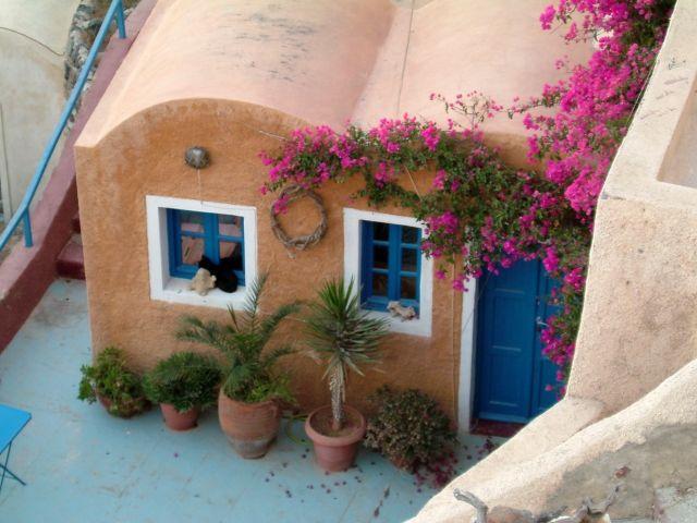 Zdjęcia: Oia, Santorini, chatka, GRECJA
