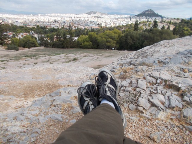 Zdjęcia: Wzgórza Filopaposa, Ateny, Ateny - relaks, GRECJA