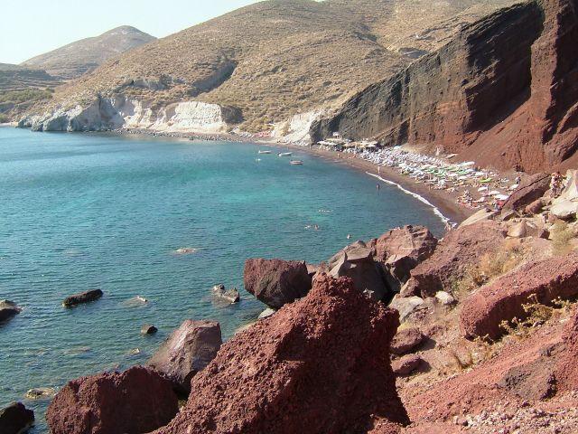 Zdjęcia: santorini, Santorini, Red Beach, GRECJA