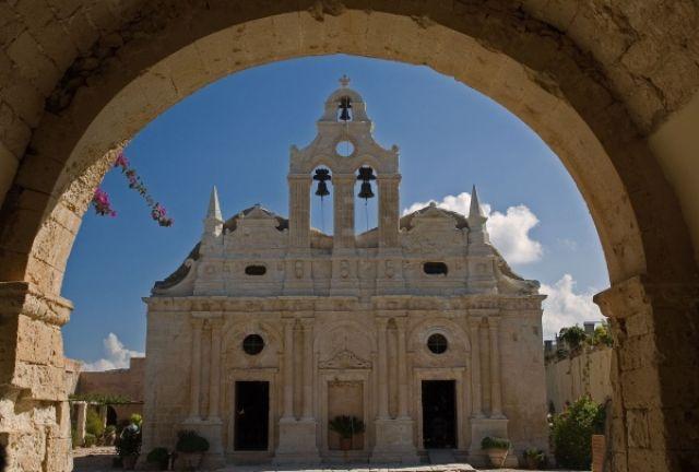 Zdjęcia: Klasztor Arkadia, Kreta, Kreta, GRECJA