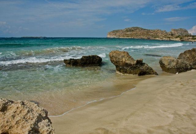 Zdjęcia: Falasarna, Kreta, Plaża w Falasarnie, GRECJA