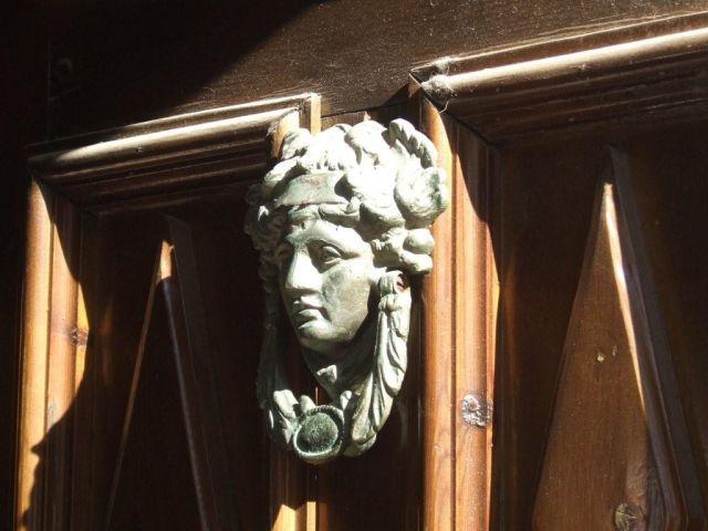 Zdjęcia: Lindos, Drzwi w Lindos, GRECJA