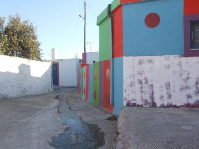 Zdj�cia: Rodos, Domek na wyspie, GRECJA