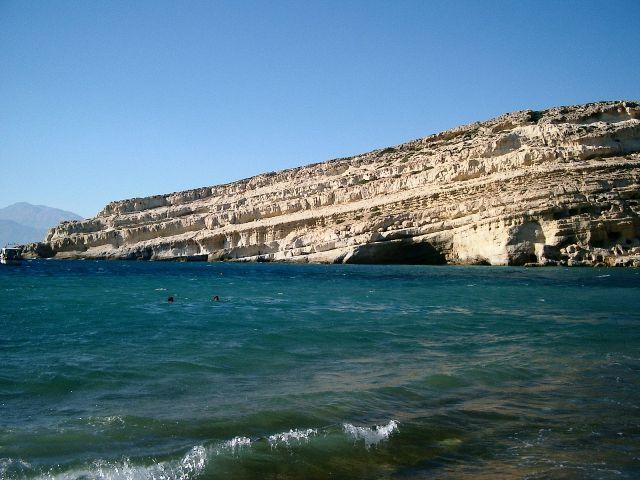 Zdjęcia: morze....., Matala, Matala , GRECJA