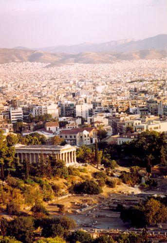 Zdjęcia: Ateny, Widok na Ateny, GRECJA