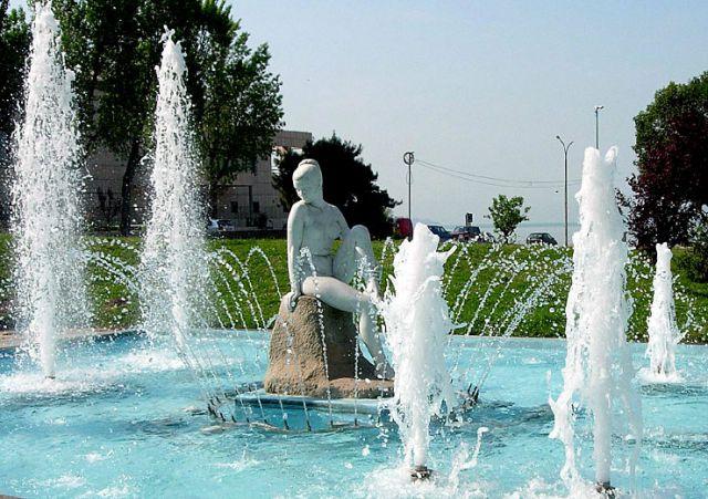 Zdjęcia: Ateny, -.., fontanna, GRECJA