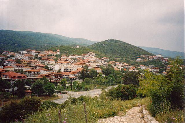 Zdjęcia: Platamonas, Grecja północna, Platamonas,widok z zamku., GRECJA