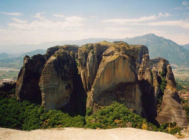 Zdjęcia: Kalambaka, Skałki, GRECJA