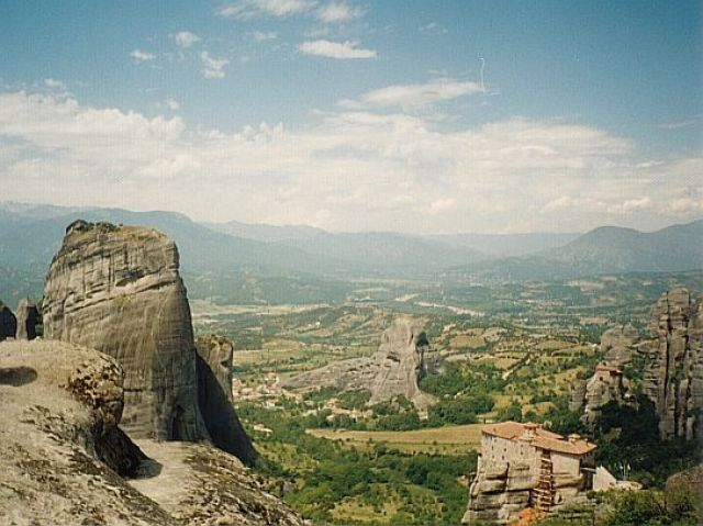 Zdj�cia: Kalambaka, Meteory, GRECJA