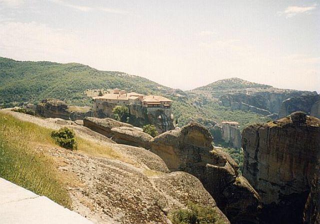 Zdjęcia: Kalambaka, Klasztor na skale, GRECJA