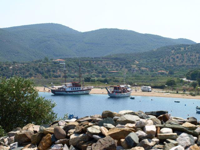"""Zdjęcia: sithonia, chalkidiki, """"mini port"""", GRECJA"""