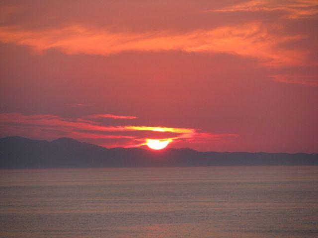 Zdjęcia: Agios Stefanos, Korfu, zachód słońca, GRECJA