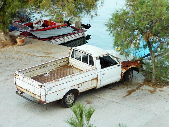 Zdj�cia: Thassos, motoryzacja na wyspie, GRECJA