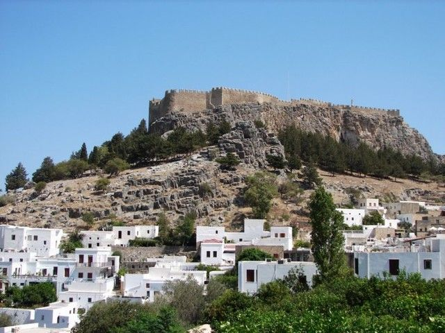 Zdjęcia: Miasto Lindos, Rodos, Rodos, GRECJA