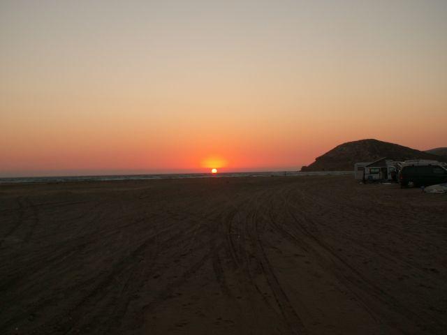 Zdjęcia: Prasonisi, Rodos, Prasonisi o zachodzie słońca, GRECJA