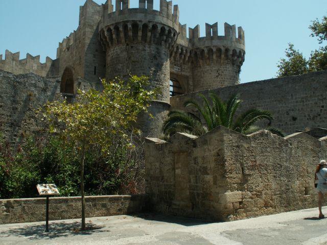 Zdjęcia: Rodos, Stare Miato, Rodos, Pałac Wielkich Mistrzów, GRECJA