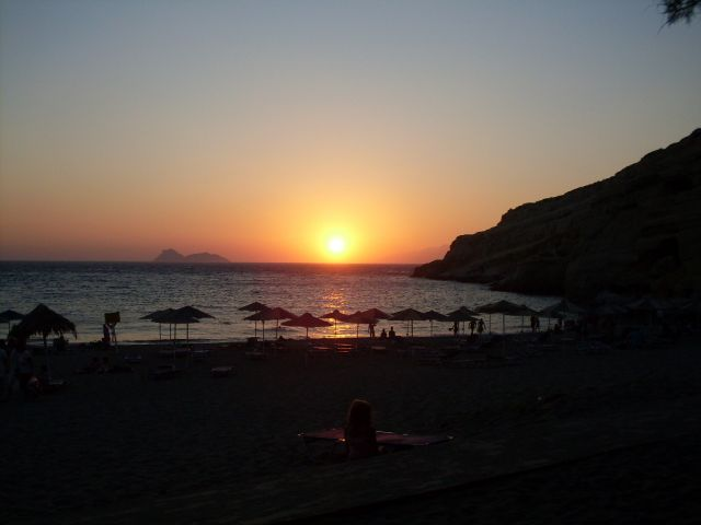 Zdjęcia: Matala, Kreta, Tu gdzie zyja hipisi - Matala, GRECJA