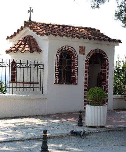 Zdjęcia: sithonia, Chalkidiki, kapliczka na każdym kroku, GRECJA