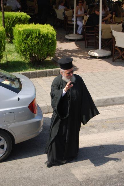 Zdjęcia: Kalambaka, Prawosławny duchowny, GRECJA