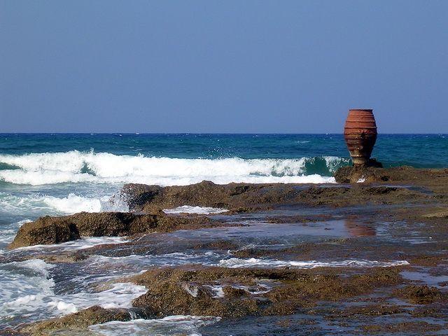 Zdjęcia: Malia, Kreta, Donica nad morzem, GRECJA
