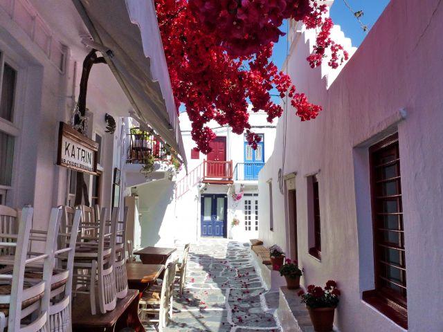 Zdjęcia: Mikonos, Cyklady, Serce miasta Mikonos, GRECJA