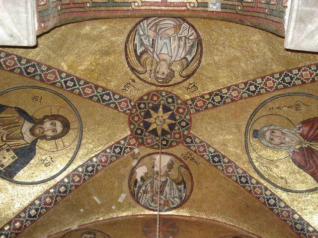 Zdjęcia: Hosios Loukas, Beocja, Sztuka Grecji - mozaiki (2), GRECJA