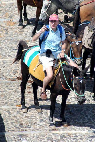 Zdjęcia: Fira, Cyklady, Santorini, Bush na wakacjach :-), GRECJA