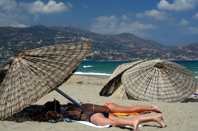 Zdjęcia: Heraklion, Heraklion, Plaża :-), GRECJA