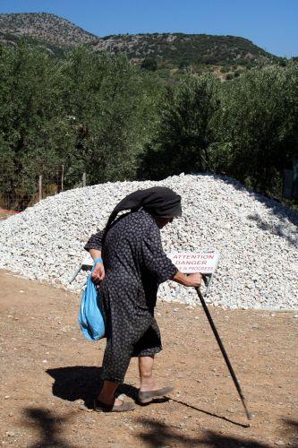 Zdjęcia: Agios Nicolaos, Agios Nicolaos, Attention danger :-), GRECJA