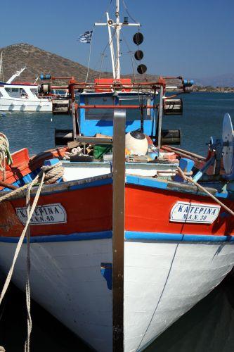 Zdjęcia: Port w Eloundzie, Elounda, Katerina, GRECJA