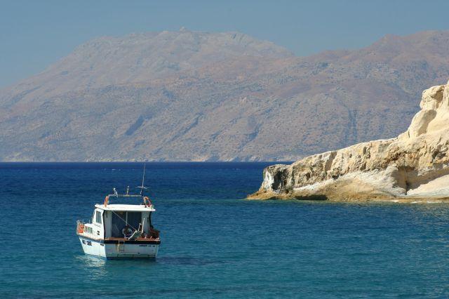 Zdjęcia: Matala, Matala, W zatoczce, GRECJA