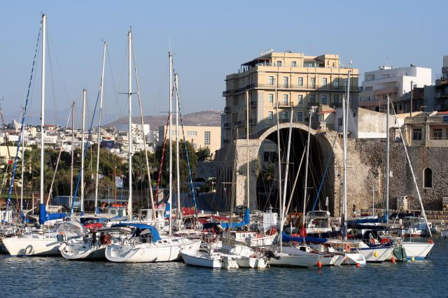 Zdjęcia: Heraklion, Heraklion, Marina, GRECJA