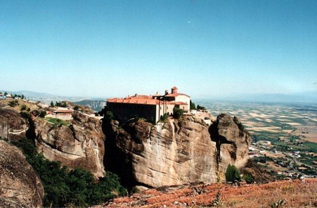 Zdjęcia: okolice Kastraki, METEORY, Klasztor św. Stefana (Agios Stefanos), GRECJA