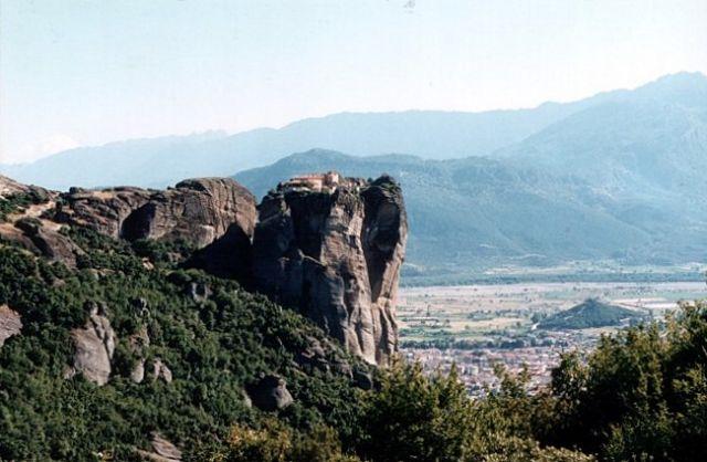Zdjęcia: okolice Kastraki, METEORY, Klasztor św. Stefana #2, GRECJA