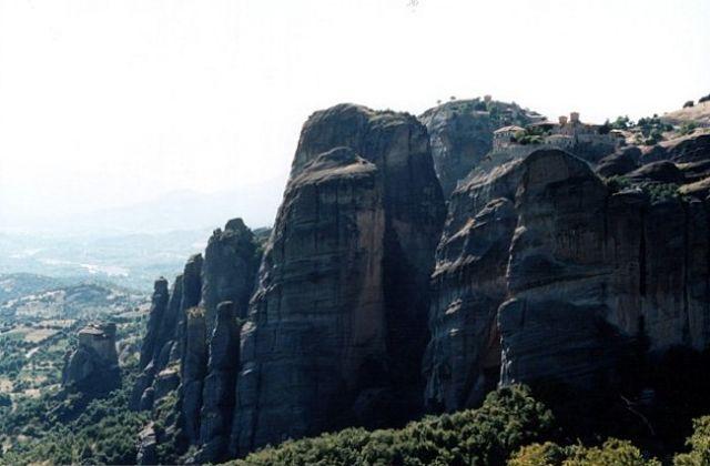 Zdjęcia: okolice Kastraki, METEORY, Klasztor św. Stefana #3, GRECJA