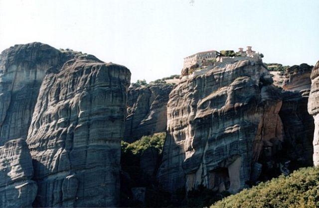 Zdjęcia: okolice Kastraki, METEORY, Monaster św. Warlaama, GRECJA