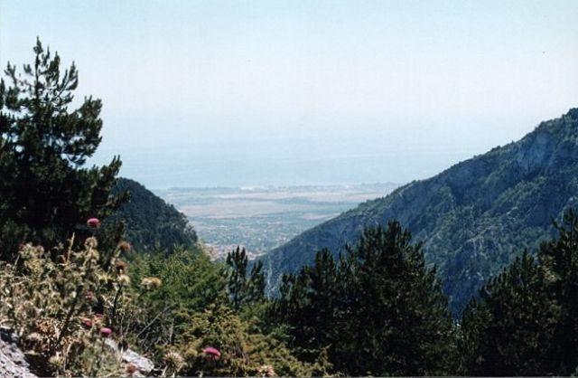 Zdjęcia: 17 km na zachód od Litochoronu, Macedonia, Olimpijski Park Narodowy, GRECJA