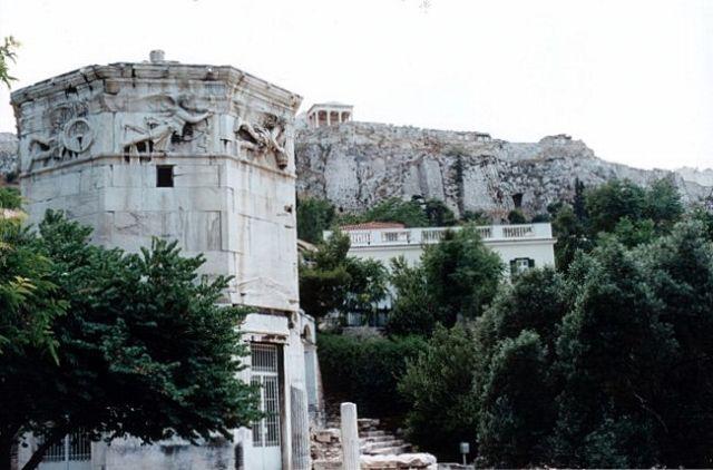 Zdjęcia: ATENY, Wieża wiatrów., GRECJA